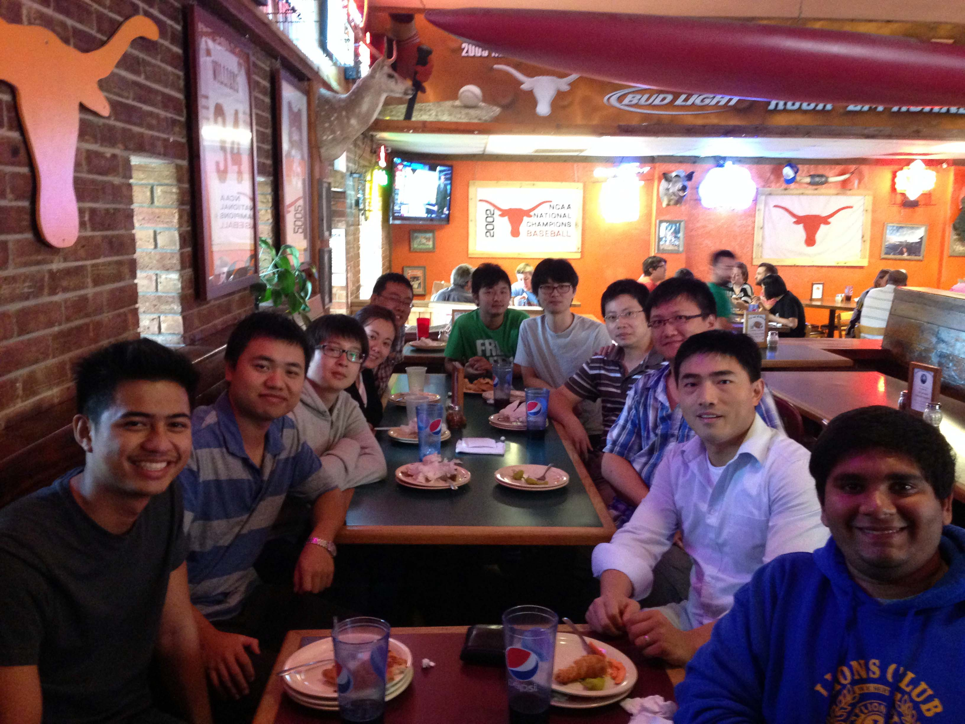 Oct 2014 Group Lunch